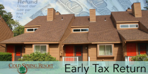 Get an early tax return